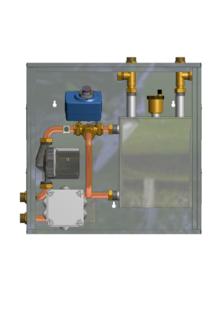Cassetta idraulica per impianti a pavimento con serbatoio - Cassetta per collettori idraulici ...